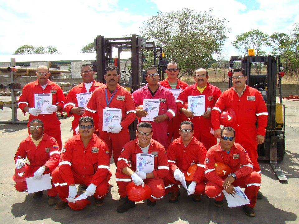 Certificacion de Operadores de Montacargas - WEATHERFORD