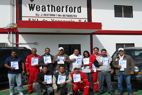 Certificacion SIAHO Modulo B Basico - WEATHERFORD 1