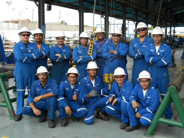 Certificacion de Operadores de Gruas Puentes - SCHLUMBERGER 2