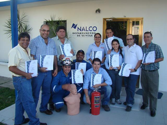Manejo y Uso de Extintores Portatiles NALCO