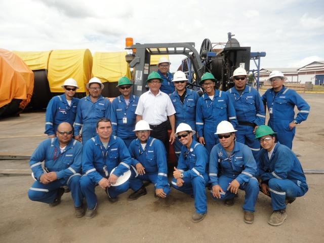 Certificación Operadores de Montacargas (SCHLUMBERGER)
