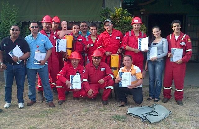 Certificación Internacional en Seguridad con el Sulfuro de Hidrogeno (WEATHERFORD)