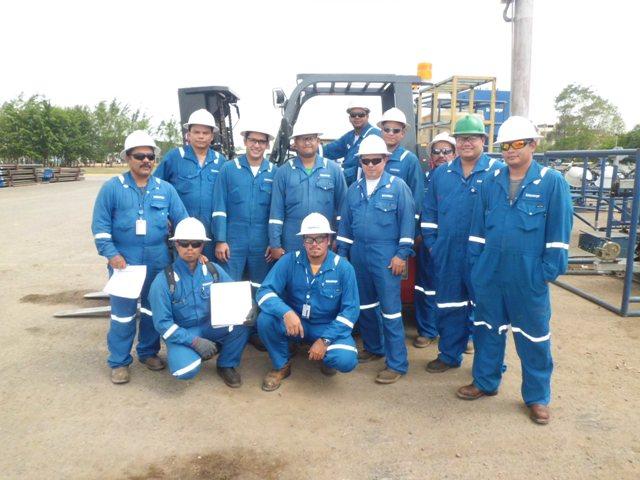 Certificación de Operadores de Montacargas (SCHLUMBERGER)