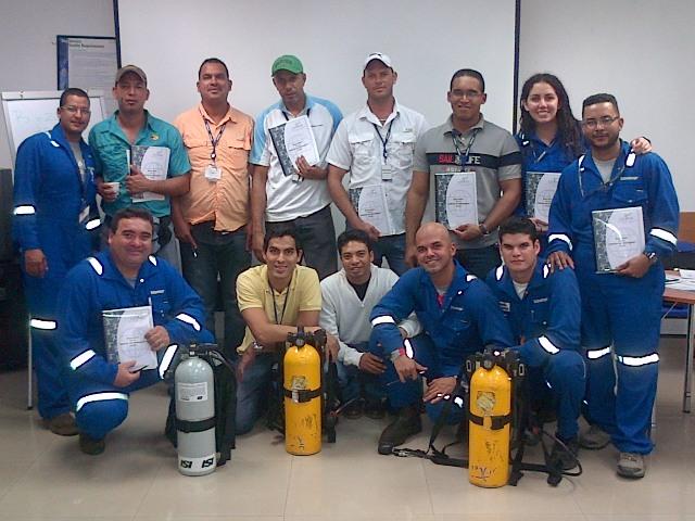 Certificación Internacional para trabajo con H2S (SCHLUMBERGER)