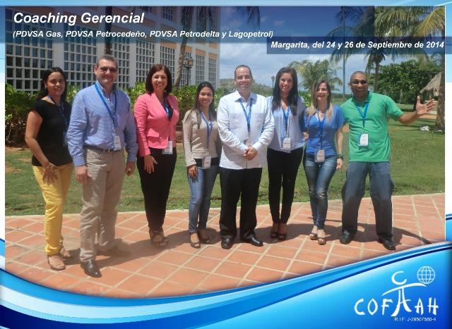 Foto AF Coaching Gerencial. 22 al 24 de septiembre de 2014, Margarita