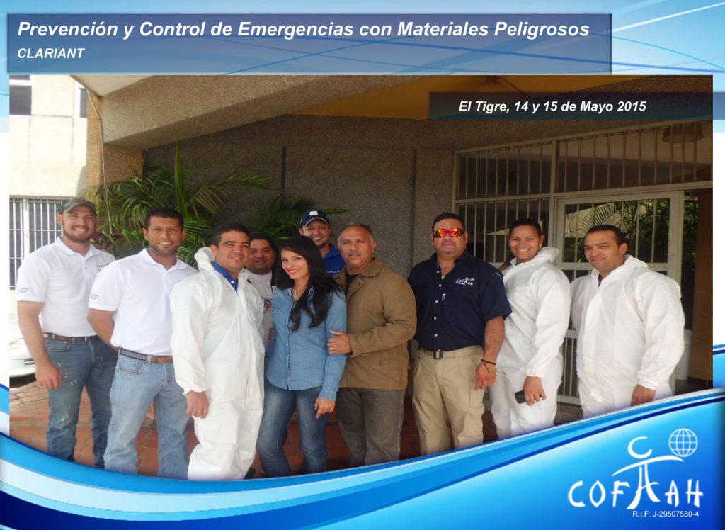 Prevención y Control de Emergencias con Materiales Peligrosos - CLARIANT