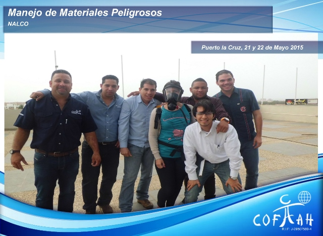 Manejo de Materiales Peligrosos NALCO 21-22 May 2015