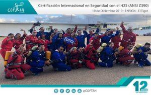 Fotografia Formarto Corporativo Cert Internacional en Seguridad con el H2S ENSIGN El Tigre