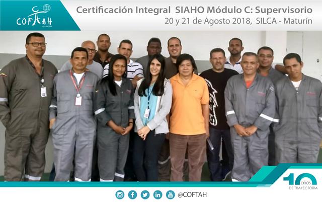 Certificación Integral SIAHO Módulo C – Supervisorio (SILCA) Maturín