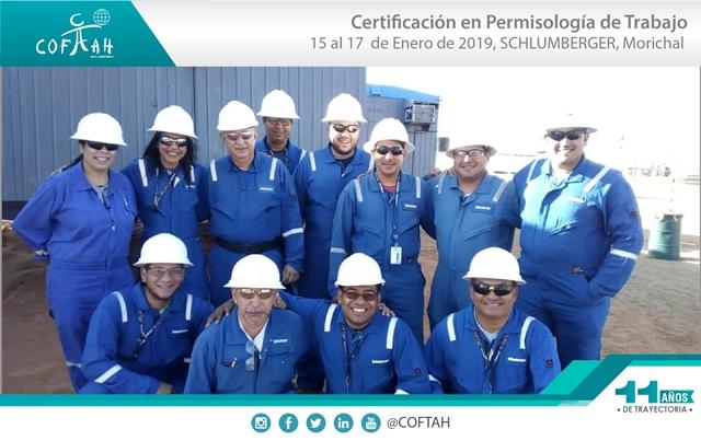 Certificación en Permisología de Trabajo (SCHLUMBERGER) Morichal
