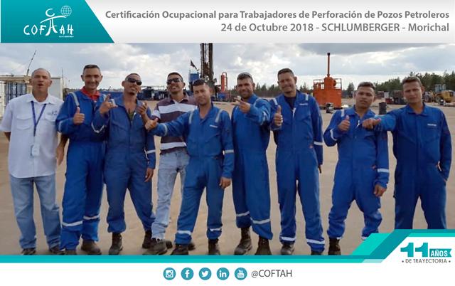 Certificación Ocupacional Trabajadores Perforación de Pozos Petroleros (SCHLUMBERGER) Morichal