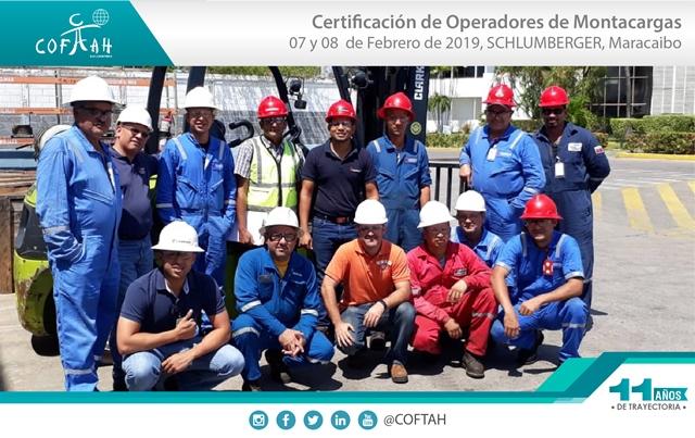 Certificación de Operadores de Montacargas (SCHLUMBERGER) Maracaibo