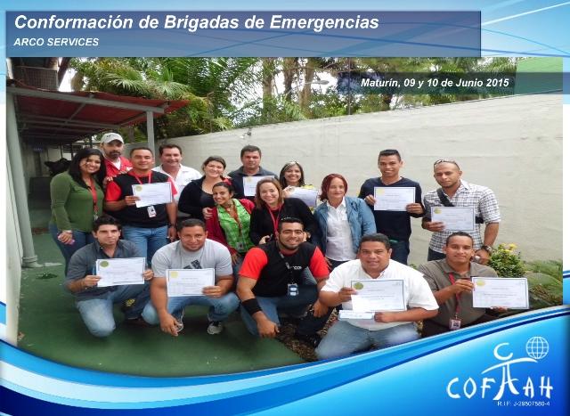 Conformación de Brigadas de Emergencias (ARCO Services) Maturín
