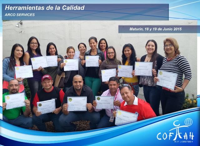 Herramientas de la Calidad (ARCO Services) Maturín