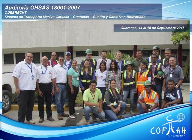 Auditoría OHSAS 18001-2007 (ODEBRECHT) Guarenas