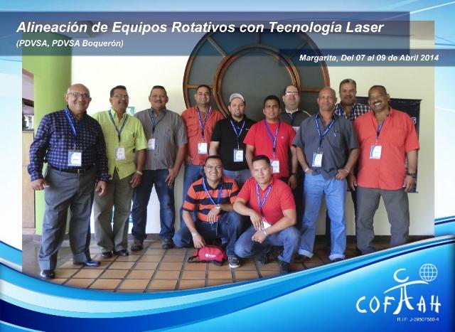 Alineación de Equipos Rotativos con Tecnología Laser (PDVSA) Isla Margarita