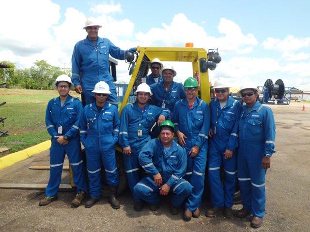 Certificación Operadores de Montacargas (SCHLUMBERGER) Maturin