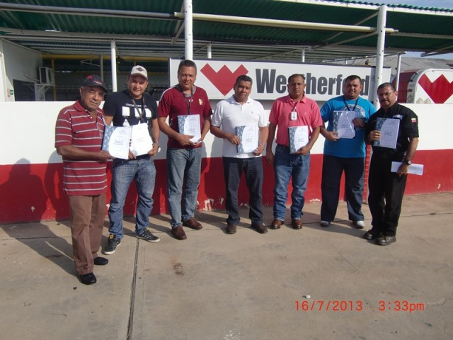 Manejo Vial Defensivo Flota Pesada (WEATHERFORD) Ciudad Ojdeda