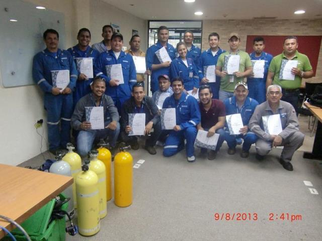 Certificación Internacional para trabajo con H2S (SCHLUMBERGER) Maturin