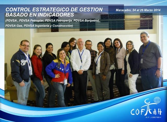 Control Estrátegico de Gestión basado en Indicadores (PDVSA Varios) Maracaibo