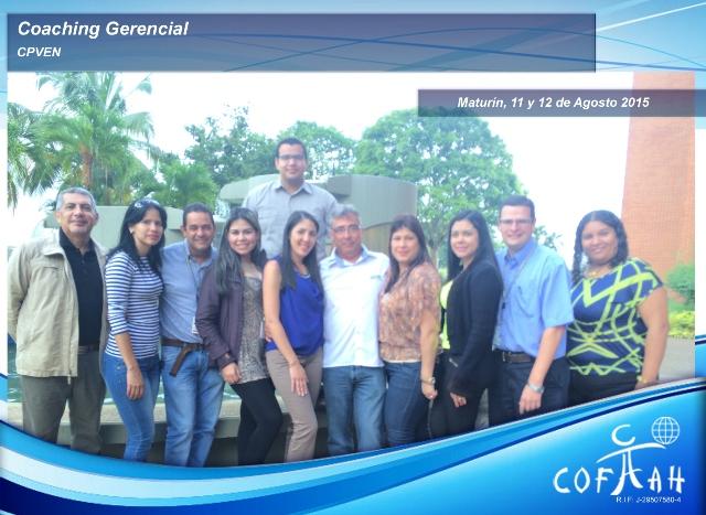 Coaching Gerencial (CPVEN) Maturín