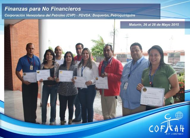 Finanzas para No Financieros (PDVSA CVP) Maturín