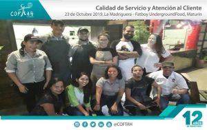 Calidad de Servicio y Atención al Cliente (FATBOY - MADRIGUERA) Maturín
