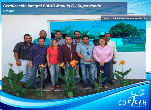 Certificación Integral SIAHO Módulo C - Supervisorio (ESVENCA) Cabimas