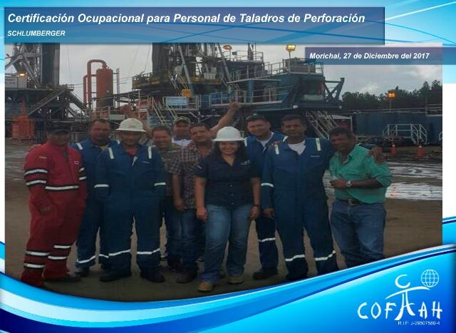 Certificación Ocupacional para Personal de Taladros de Perforación (SCHLUMBERGER) Morichal