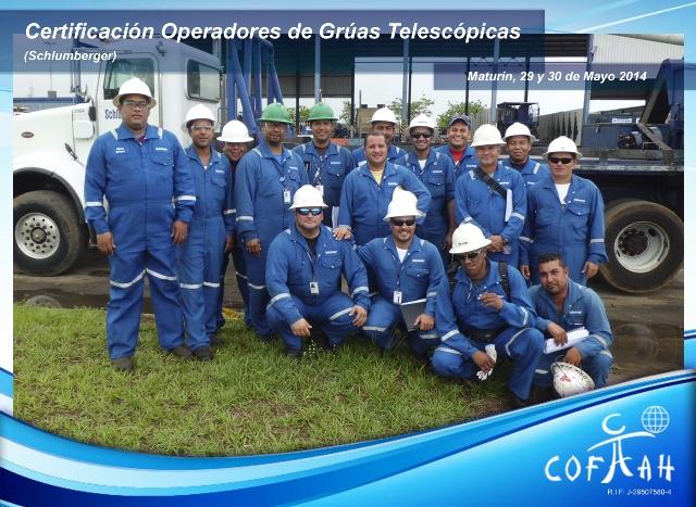 Certificación Operadores de Grúas Telescópicas (SCHLUMBERGER) Maturín