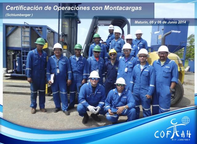 Certificación Operadores de Montacargas (SCHLUMBERGER) Maturín