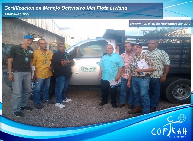 Certificación en Manejo Defensivo Vial - Flota Liviana (AMAZONAS Tech) Maturín