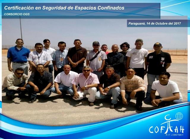 Certificación en Seguridad de Espacios Confinados (OGS) Paraguaná