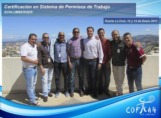 Certificación en Sistema de Permisos de Trabajo (SCHLUMBERGER) Puerto la Cruz