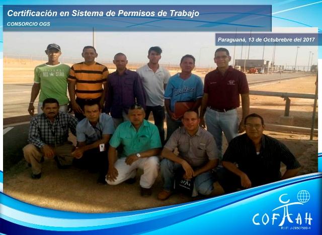 Certificación en Sistema de Permisos de Trabajo (OGS) Paraguaná