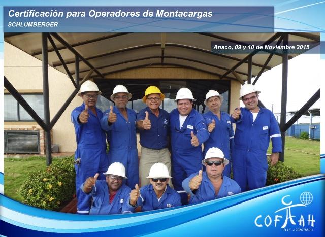 Certificación para Operadores de Montacargas (SAXON) Anaco