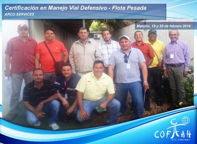 Certificación en Manejo Vial Defensivo - Flota Pesada (ARCO Services) Maturín