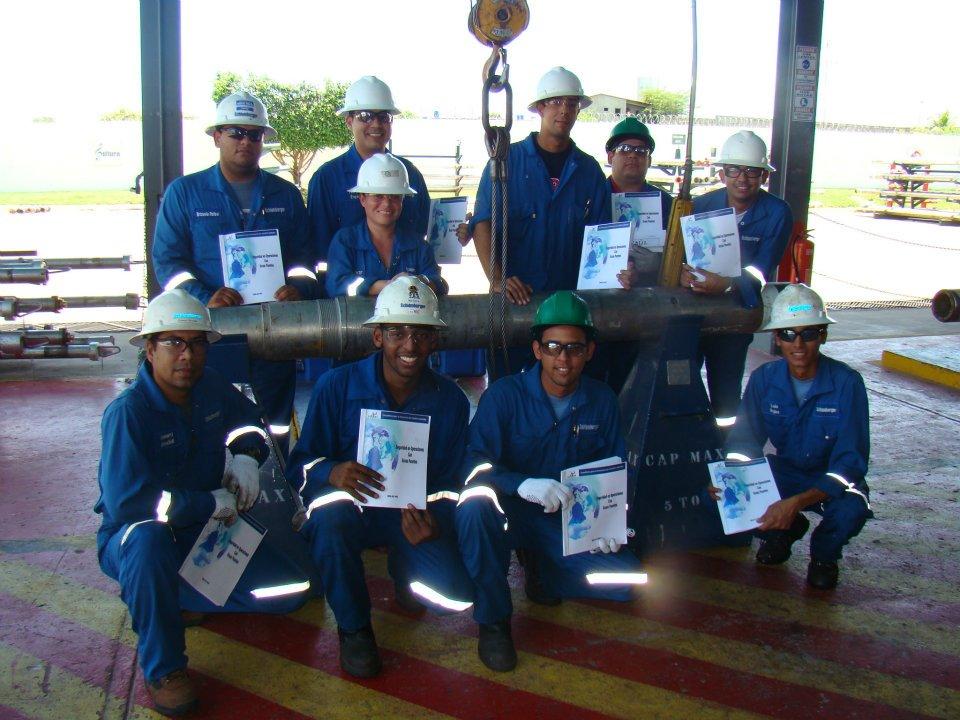 Certificacion de Operadores de Gruas Puentes - SCHLUMBERGER