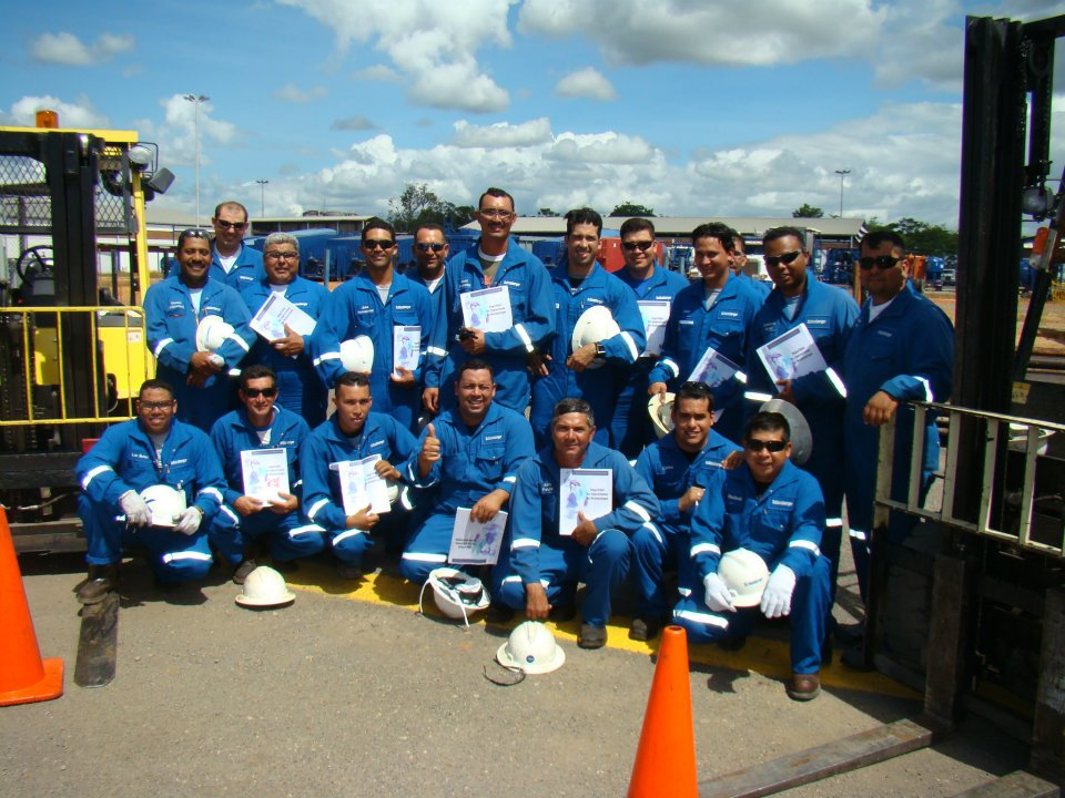 Certificacion de Operadores de Montacargas - SCHLUMBERGER
