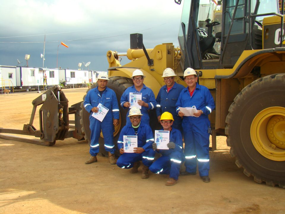 Certificacion de Operadores de Montacargas WEATHERFORD 3