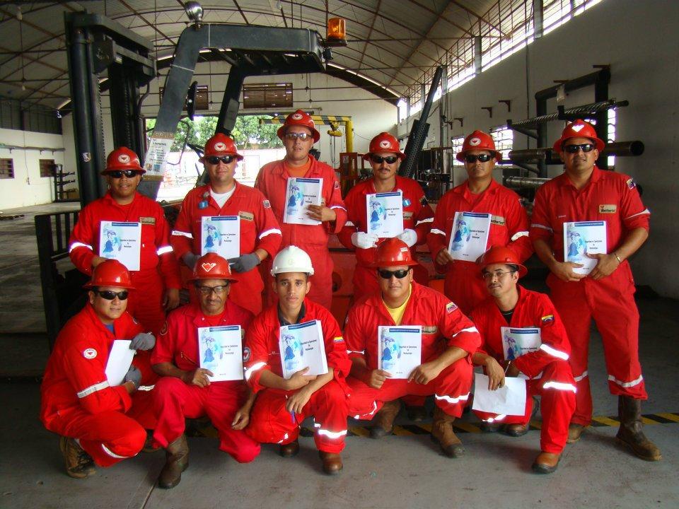 Certificacion de Operadores de Montacargas WEATHERFORD