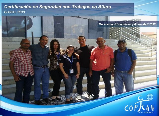 Certificación en Seguridad con Trabajos en Altura (GLOBAL TECH) Maracaibo