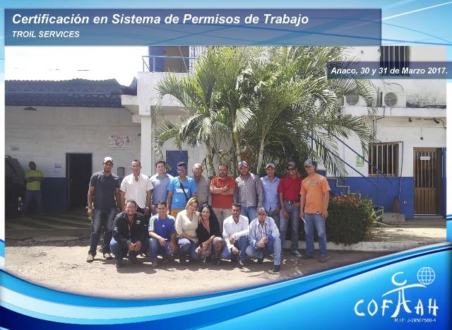 Certificación en Sistema de Permisos de Trabajo (TROIL Services) Anaco -