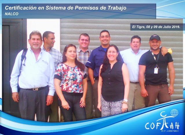 Certificación en Sistema de Permisos de Trabajo (NALCO) El Tigre