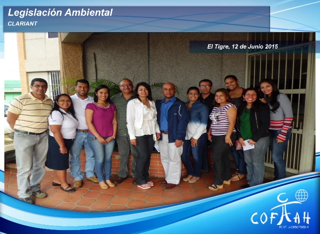 Legislación Ambiental (CLARIANT) El Tigre