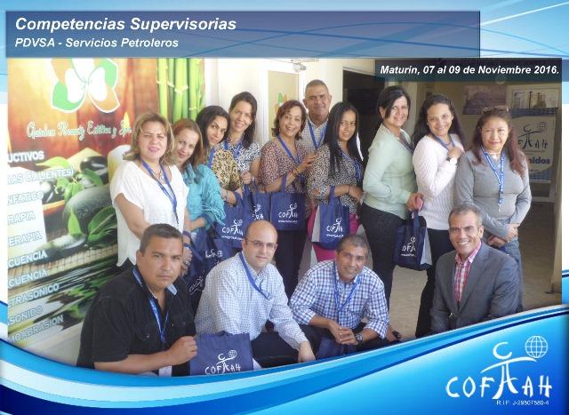 Competencias Supervisorias (PDVSA Servicios Petroleros) Maturín