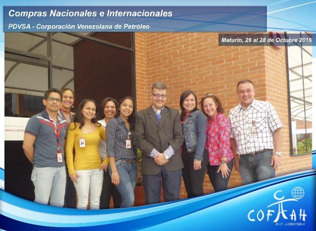 Compras Nacionales e Internacionales (PDVSA - CVP) Maturín