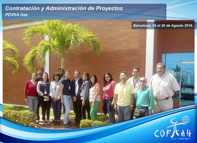Contratación y Administración de Proyectos (PDVSA Gas) Barcelona