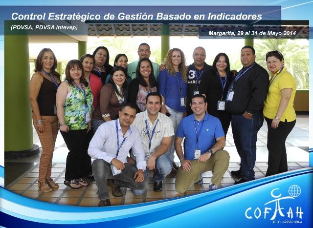 Control Estratégico de Gestión Basado en Indicadores (PDVSA) Isla de Margarita