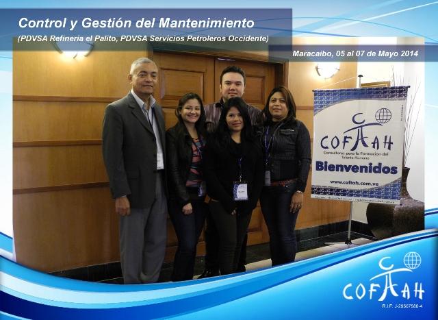 Control y Gestión del Mantenimiento (PDVSA) Maracaibo